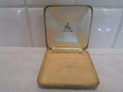 Wonderful Vintage Jewellery Box. Antique Jewelry Case. Old Jewellers Box
