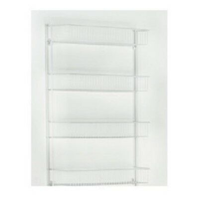 "803300 4Shelf 18""WHT Wall Rack"