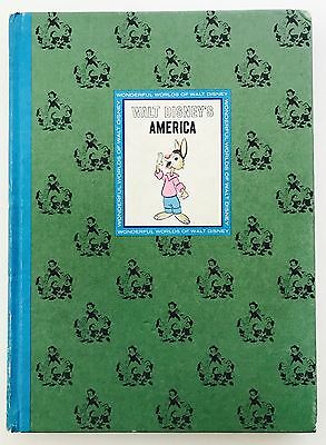 WALT DISNEY'S AMERICA - Wonderful World of Walt Disney Book (Hardback, 1965)