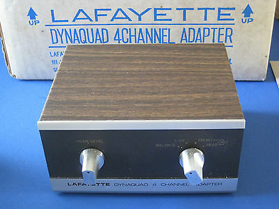 Lafayette 4 channel stereo adapter quad vintage hifi w for Lafayette cds 30