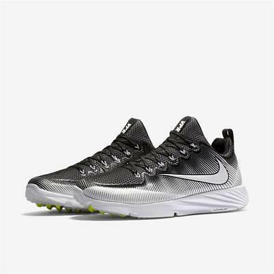Nike Vapor Speed Trainer Turf Shoes Cleats Sz 9 Destroyer Nubby White Black