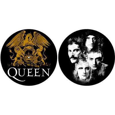 Queen - Crest And Faces Slipmat Set - New & Official In Pack