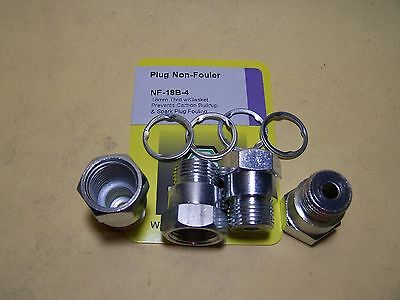 Spark Plug Non-Fouler 18mm thread 4/package - Dorman 42009 (2 pkgs of 2)
