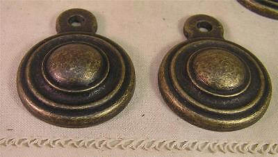 8 Oil Rubbed Brass Vintage Style Bed Bolt Screw Cover Cabinet Furniture Hardware