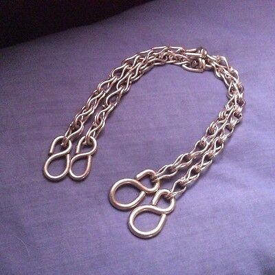 Vintage Hand Made Rein Chains