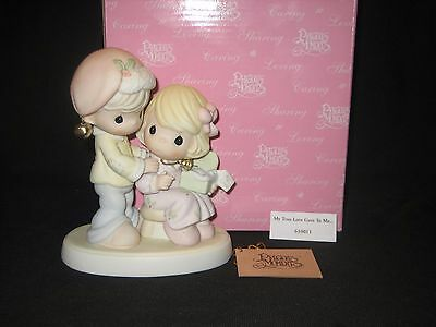 """Precious Moments """"My True Love Gave to Me""""  #61011 New  Retired Christmas Series"""