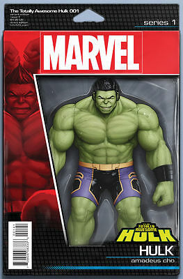 Totally Awesome Hulk #1 - Action Figure Variant - Marvel (Ns2)