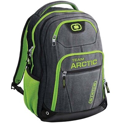 Arctic Cat Tribune OGIO Backpack With Laptop Compartment Black & Green 5282-904