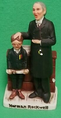 Norman Rockwell Cover Collection June 26th 1926 Schoolmaster Figurine #NR-210