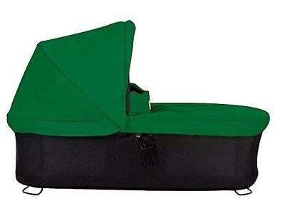 Mountain Buggy Carrycot Plus with 3 Seat Modes for 2015 Swift and MB Mini -Green