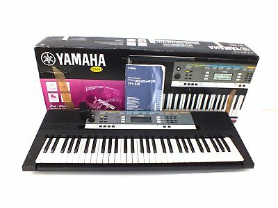 yamaha electronic keyboard ypt 200 picclick uk. Black Bedroom Furniture Sets. Home Design Ideas
