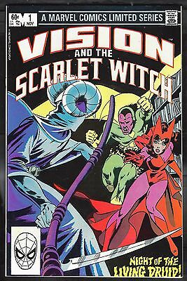 Vision and the Scarlet Witch 1 NM+ 9.6 Uncertified 1982 Marvel Avengers