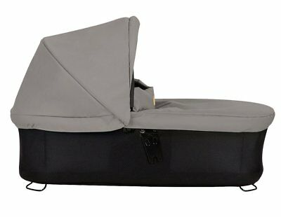 Mountain Buggy Carrycot Plus with 3 Seat Modes for 2015 Swift & MB Mini - Silver