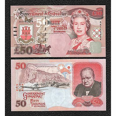Gibralter P-34 1.12.2006 50 Pounds-Crisp Uncirculated