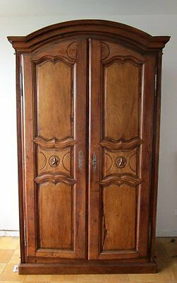 ANTIQUE 18th CENTURY circa 1750 FRENCH  Armoire Cabinet Wardrobe I TOURNAY JVE