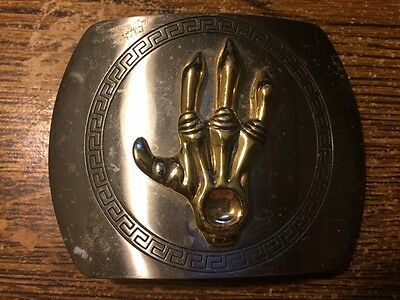 Metal Claw Belt Buckle