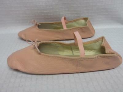 Toddler Loshin's Leather Ballet Shoes Ballet Pink Size 8.5 NEW USA Made