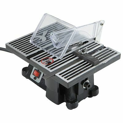 100mm Mini Table Bench Saw Electric Portable Wood Metal Glass Cutting Tool 220V