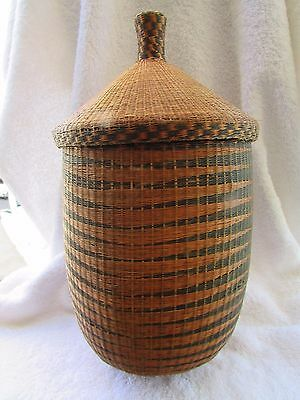 Antique SUDANESE BASKET...Finely Woven in Exceptional Condition...COLLECTIBLE