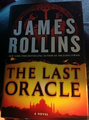 """James Rollins Signed """"the Last Oracle"""" First Edition"""
