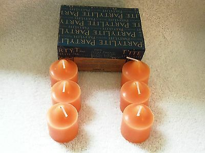 Partylite Spiced Pumpkin Votives -- NIB