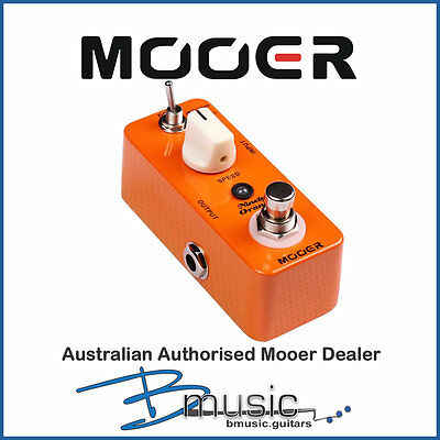 Brand NEW Mooer Ninety Orange Phaser Pedal - Authorised Australian Dealer