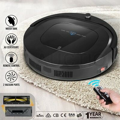 DEEBOT 12-in-1 Robot Vacuum Robotic Automatic Cleaner Floor Sweeper Mop With R/C
