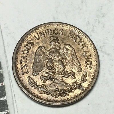 MEXICO 1940 1 Centavo coin About uncirculated