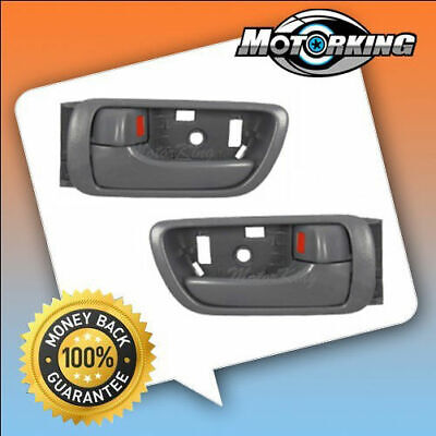 For 2002 2003-2006 Toyota Camry Inside Door Handle Gray Left & Right 2PCS DS74