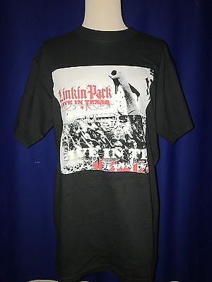 2003 Linkin Park Live In Texas PROMO TSHIRT SHIRT NR MINT MEDIUM