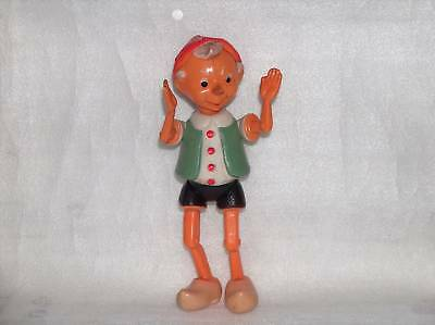 VINTAGE CELLULOID TOY - PINOCCHIO/BURATINO,RUSSIA,1950s