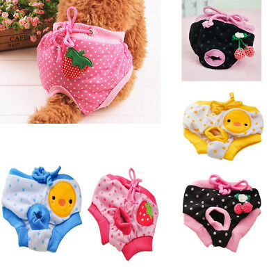 New Puppy Diaper Pants Physiological Sanitary Short Panty Underwear&Toy For Pet