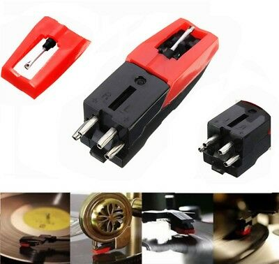 Turntable Phono Ceramic Cartridge with Stylus Needle for Vinyl Record Player New