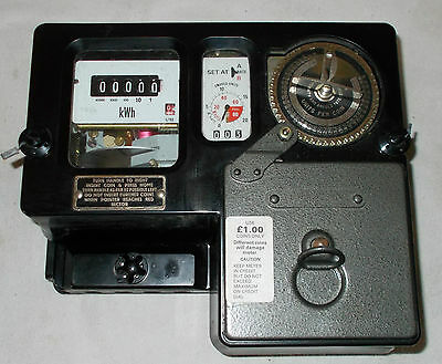 uk coin operated electric meter
