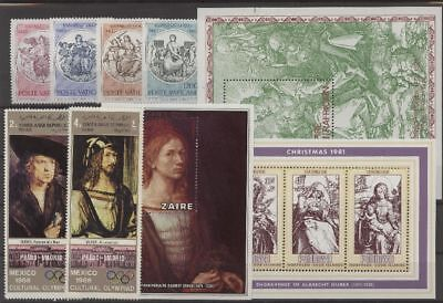 Gemälde, Paintings, Dürer - LOT ** MNH