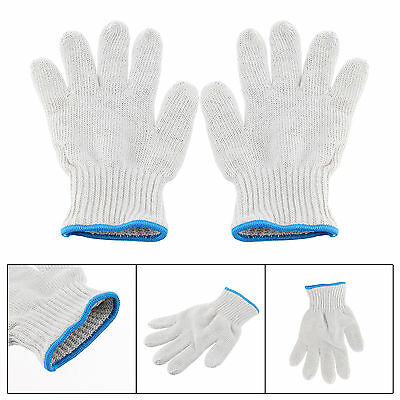 Pair of Kitchen Oven Gloves Heat Resistant Holder Baking BBQ Cook Protection