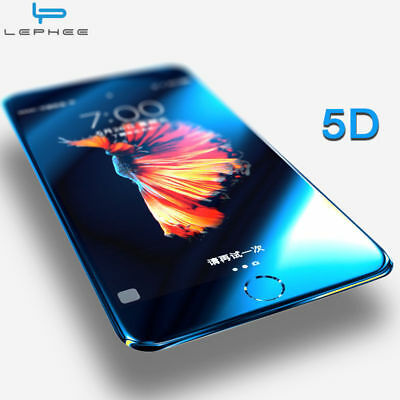 5D Curved Full Cover Tempered Glass Screen Protector Film For iPhone 7 6S 6+
