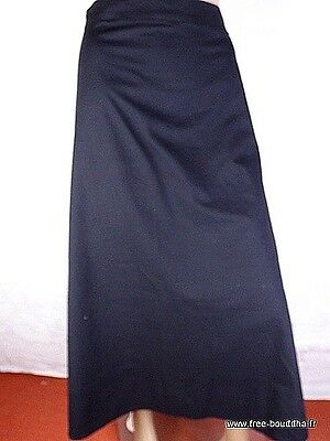 Jupe Grande Taille Longue Noire  Taille 50 A 62 Ad1.5