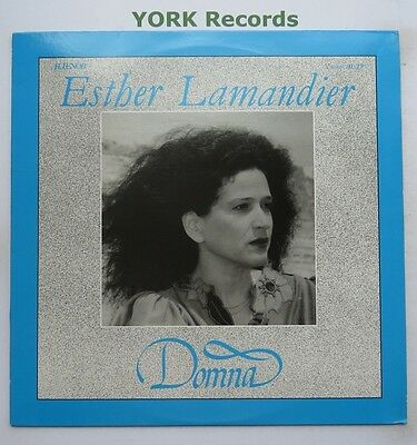 AL 19 - ESTHER LAMANDIET - Domna - Excellent Condition LP Record