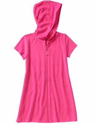 Ocean Pacific Girls' Swimwear Cover-Up Pink & White, NWT