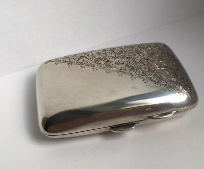 Antique Silver Cigarette Case