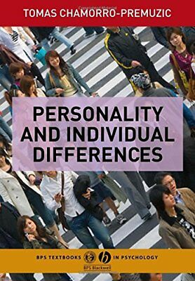 Personality and Individual Differences (Tex... by Chamorro-Premuzic, T Paperback