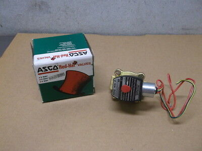 "New ASCO Red-Hat Model #8210G3 3/4"" Shutoff Valve"