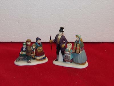 Dept. 56 Dickens' Village-A Christmas Carol Reading -2-Replacement Pieces