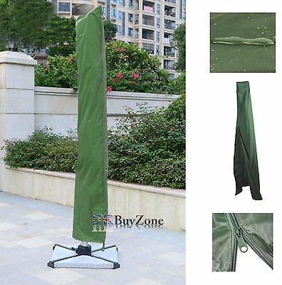 Waterproof Parasol Cover With Zip Weatherproof Umbrella Protective Large Cover