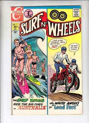 Surfn' Wheels #5 strict NM- 9.2 High-Grade Wythville Certificate  40 pct