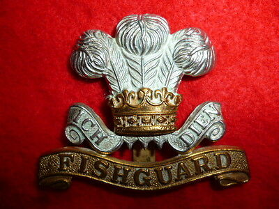 The Pembrokeshire Yeomanry Cap Badge