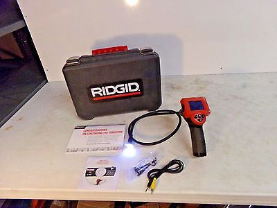 Ridgid Micro CA-25 Digital Inspection Camera W/Case, Manual, Digital Cable