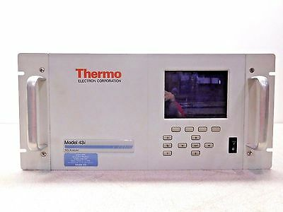 Mo-2169, Thermo Electron 43I-Anscc So2 Analyzer. ~115 V. 50/60 Hz. 165 W. 3 A.