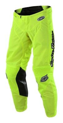Troy Lee Designs 2018 GP Air Pants Mono Flo Yellow Youth All Sizes